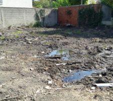 l eau stagnant due a etude de sol depend du terrain