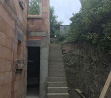 Escalier RDC extérieur