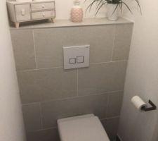 Décoration wc du rdc