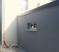 facade nord garage et ouest maison