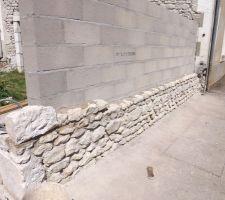 Doublage pierre