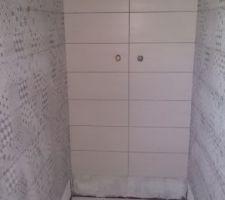 Faïence de la douche du rez de chaussée