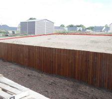 mur de soutenement en lame de terrasse