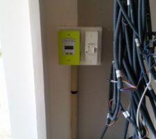 Linky! Vu le décalage des travaux, le compteur EDF est placé avant la GTL! Ils ont intérêt à respecter le travail d'Enedis!