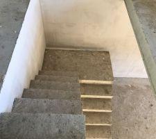 Vu sur L'escalier menant au RDC