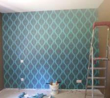 Mur chambre parentale