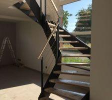 Escalier posé