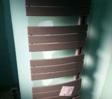 Radiateur mixte nefertiti intégral sdb etage