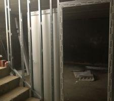 Rails sous sol et portes de caves installés