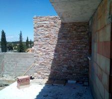 Mur terrasse ouest