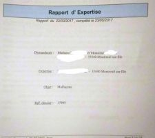 Extrait CR expertise n°1