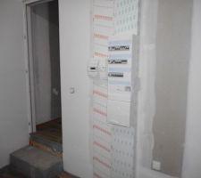 mise en place de la gaine technique de logement pose du compteur edf mise en route de l electricite