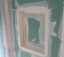 La niche de la douche. 600x450x70