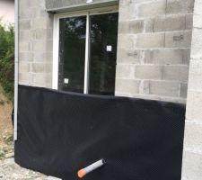 Pose des fenêtres, porte garage et porte d'entrée.. réalisée en une journée !