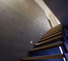 Escalier débâché !