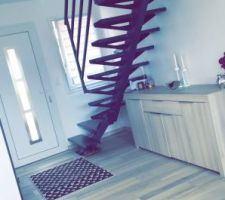 L'escalier tant attendu !