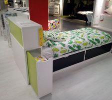 Lit Flaxa Ikea en soldes!