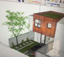 une petite maison au fond du jardin
