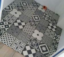 Carrelage de nos toilettes