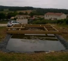 bassin en cours d amenagement