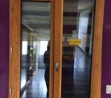 Fenêtres de la cuisine j'ai pris l'option oscillo battant pour la cuisine et la salle de bain