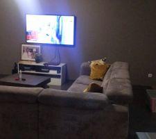 Salon avec le canapé d'angle H&H