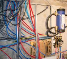 Réseaux électricité et plomberie