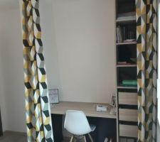 Ikea pax et EKBACKEN Plan de travail, motif chêne clair