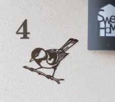 Numéro de la maison.