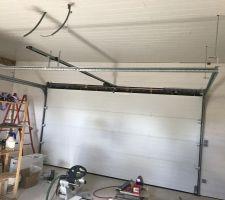 Le lambris dans le garage