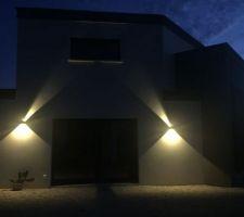 K-Bright Lampe murale 12W