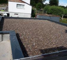 Etanchéité toit plat faite