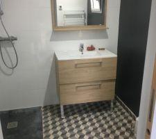 Pose sanitaire salle de bain