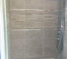 Faïences Salle d'Eau + colonne de douche