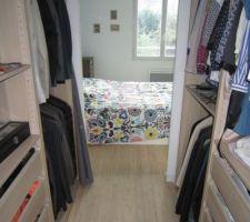 Dressing et Chambre 1.