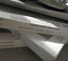 Carrelage 60*60 de chez CASA Entropia Grigio