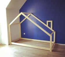 Peinture (et lit cabane) chambre du