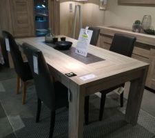 Future table de salle à manger