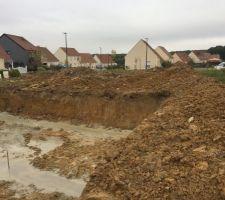 Terrassement et fondations coulées