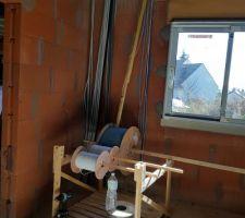 Dérouleur de câble fait maison :)