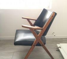 Futur fauteuil de la suite parentale
