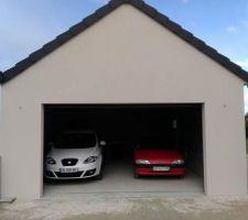 Cour remise en état, accès garage