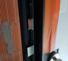 Détails de la porte d'entrée