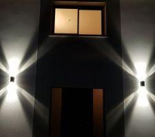 Éclairage façade