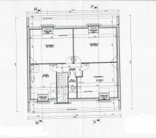 Plan définitif - étage