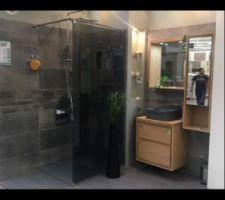 Carrelage faïence paroi de douche pour la salle d?eau rdc