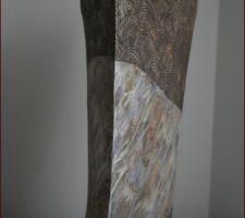 Navire, céramique de Laure Thibaud