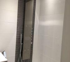 Colonne de douche installée