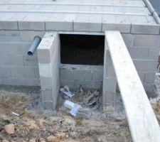 Entrée du vide sanitaire finalisée