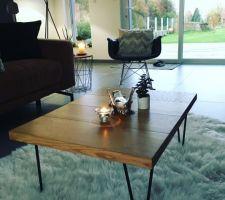 Nouvelle table de salon